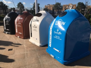 No more skips: 'smart' recycling bins don't overflow, send out fire alert
