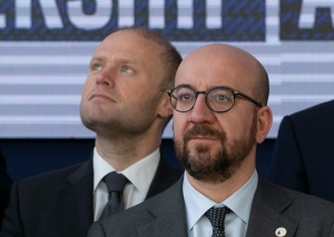 'I don't want to disrupt ongoing inquiries', cautious EU president on Muscat and Malta