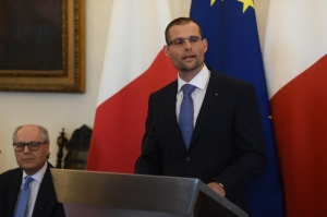 [WATCH] Rule of law and good governance are top of the country's agenda, Malta PM tells ambassadors