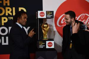 [WATCH] Former France footballer Karembeu in Malta with World Cup