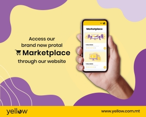 Yellmarket: businesses can showcase their products and speak to customers