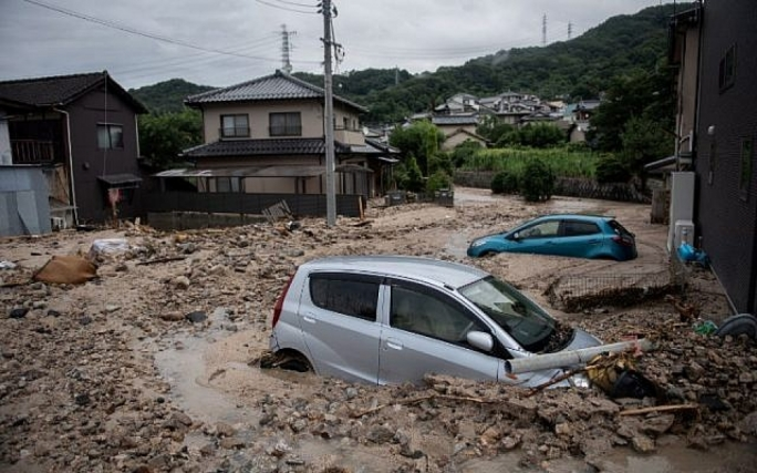 Japan experienced terrible floods earlier this month (AFP Photo: Martin Bureau)
