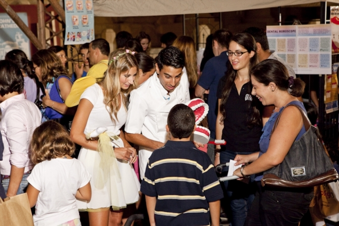Some of the activities from last year's Science in the City in Valletta.
