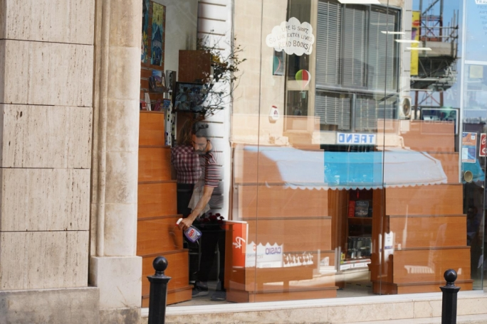 [WATCH] Shops start re-opening in Sliema as COVID-19 soft lockdown is slowly lifted