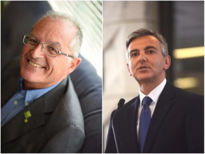 Arnold Cassola (left) warned that Simon Busuttil will be responsible if PL wins the election