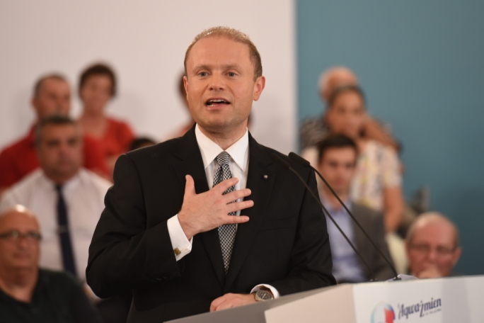 Overall when asked who of the two leaders they trust most, 39.2% chose Busuttil while 43.9% chose Muscat (Photo: Chris Mangion/MediaToday)