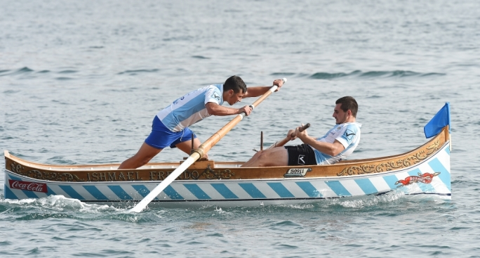 The rowers are training for the 8 September regatta, the most important annual event for Maltese rowers