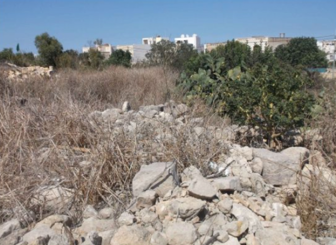 Rubble site to become a dwelling site