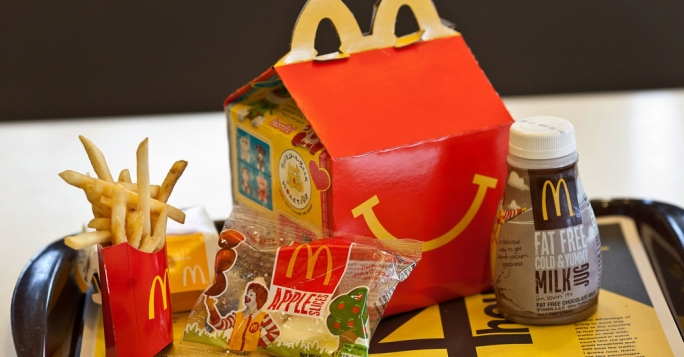 Toys are out, Roald Dahl is in as McDonald's hands out books in Happy Meals