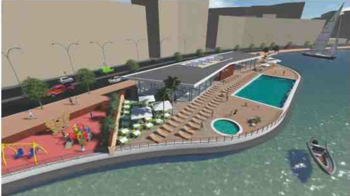 Pedestrians get 2 metre walkway in new Gzira lido plans