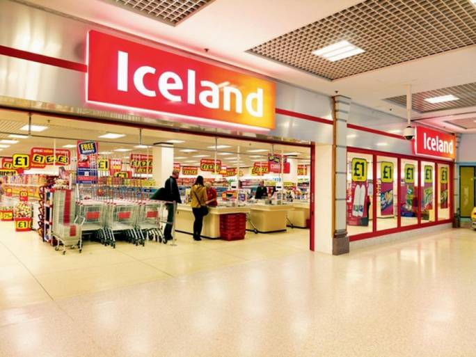 Iceland is one of UK's major supermarket chains