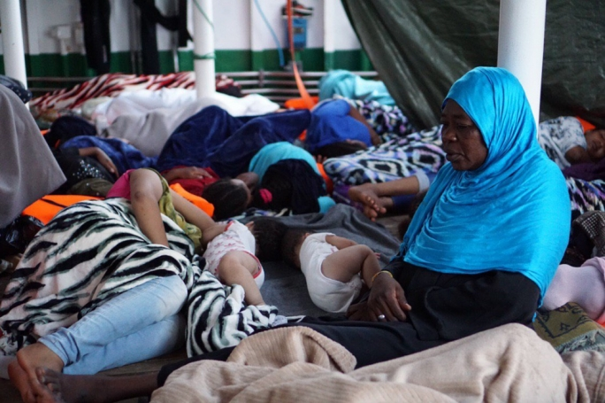 Migrants aboard the rescue vessel Open Arms (Photo: Open Arms)