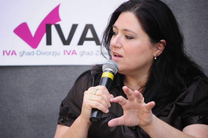 Deborah Schembri was the leader of the divorce campaign but emerged as a conservative on IVF