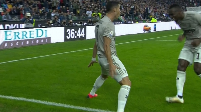 Cristiano Ronaldo was on target once more as Juventus maintained their perfect start
