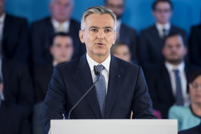Busuttil told a press conference that Malta is in an unprecedented political and constitutional crisis. Photo: James Bianchi/MediaToday