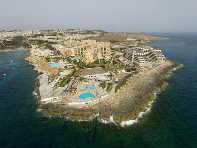 The St George's Bay peninsula: hotel groups Corinthia and Island Hotels built three hotels on public land that was sold on the cheap in a bid to develop Malta's high-end tourism product. In 2016, Corinthia acquired the Island Hotels group