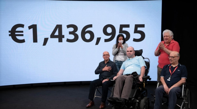 €1.4 million collected in Dar Bjorn telethon