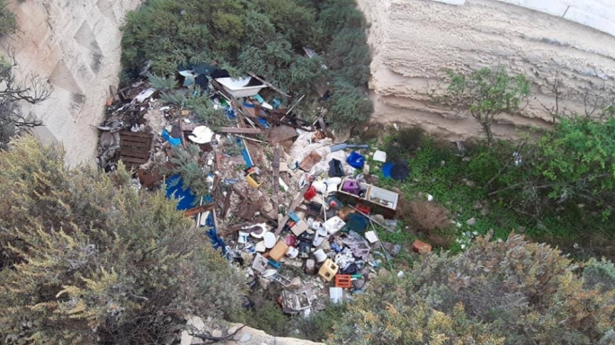 Heritage Malta condemns vandals who dumped waste at Fort Delimara