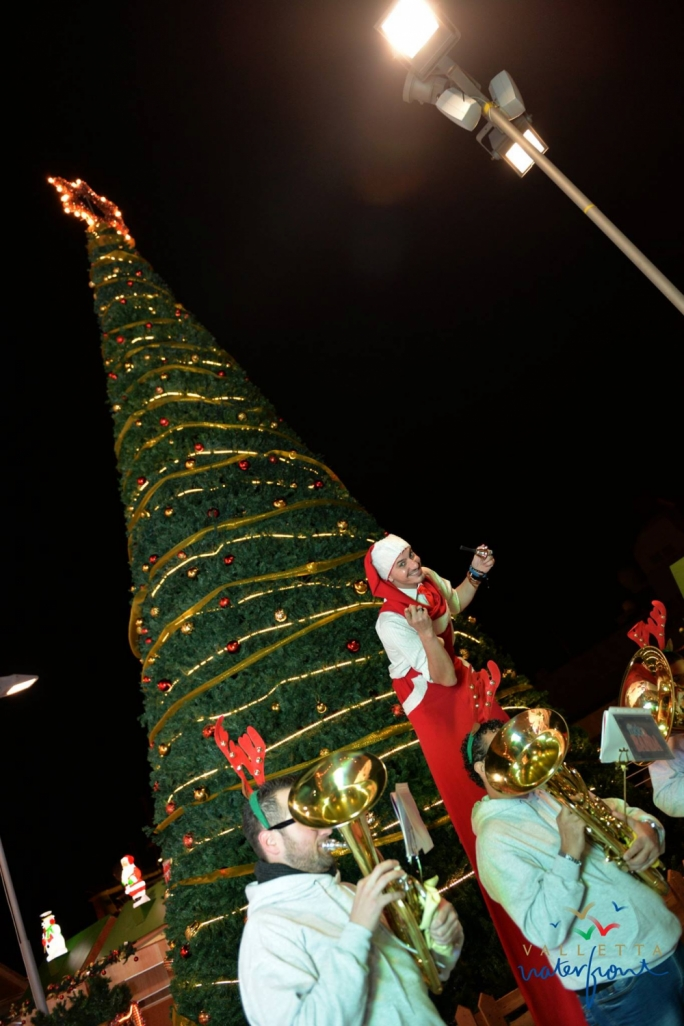 Check out the Christmas tree from Christmas Village 2015 at Valletta Waterfront. Curious about this year's decorations? Head to the Christmas Village at Valletta Waterfront from this weekend!