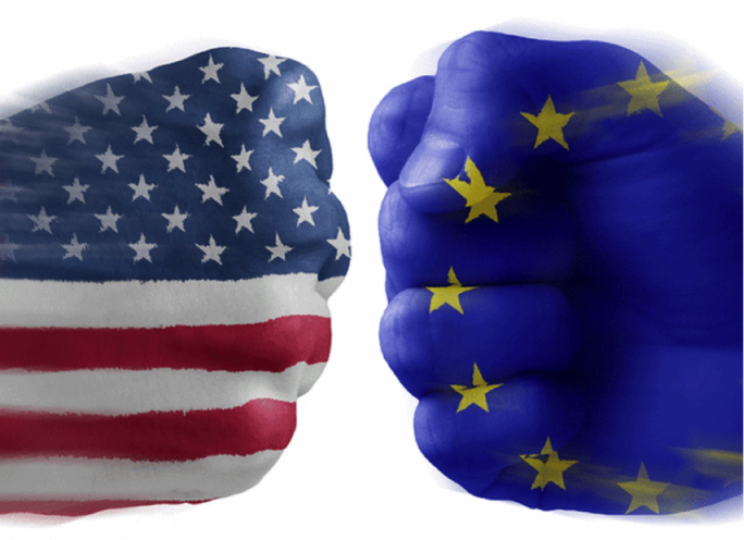 For the moment EU is not planning to hold trade negotiations with the United States