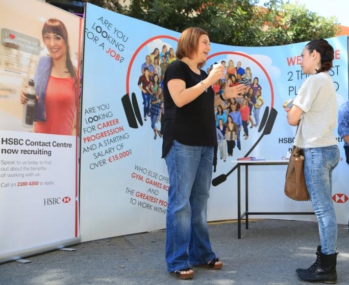 HSBC UK Contact Centre highlights its vibrancy at EURES Job Fair