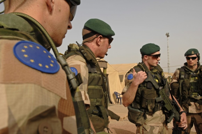 The EU has three military training missions the bloc now runs in Mali (photo shows Chad instalment), Somalia and Central African Republic