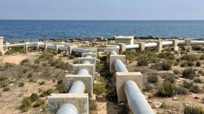 The €130 million project will include the restructuring of existing Reverse Osmosis plants and a water tunnel between Pembroke and Ta' Qali