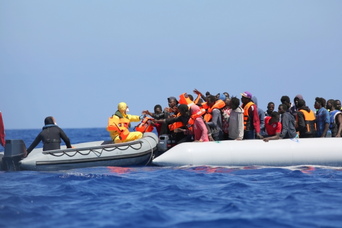 Armed Forces of Malta rescue 180 migrants at sea