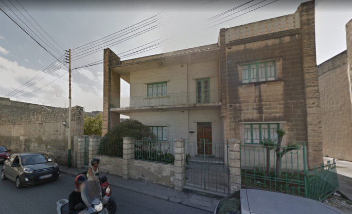 The Balzan villa's extensive gardens will be turned into a car park to cater for the needs of the supermarket opposite