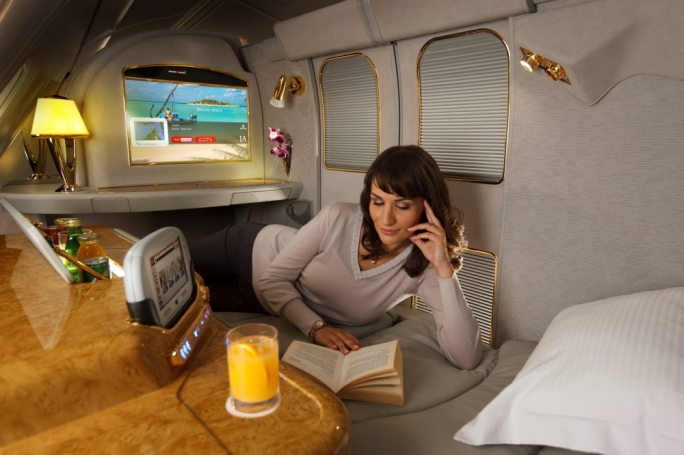 First and Business Class passengers travel in style with Emirates promotional fares