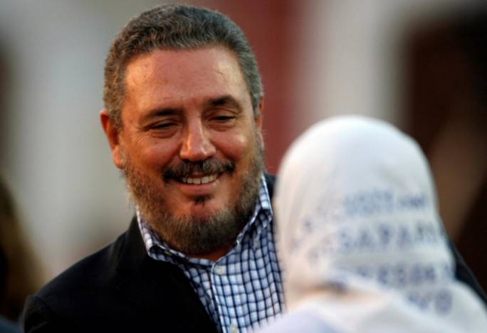 Fidel Castro's first-born son, Fidel Ángel Castro Díaz-Balart, committed suicide. (Photo: Reuters)