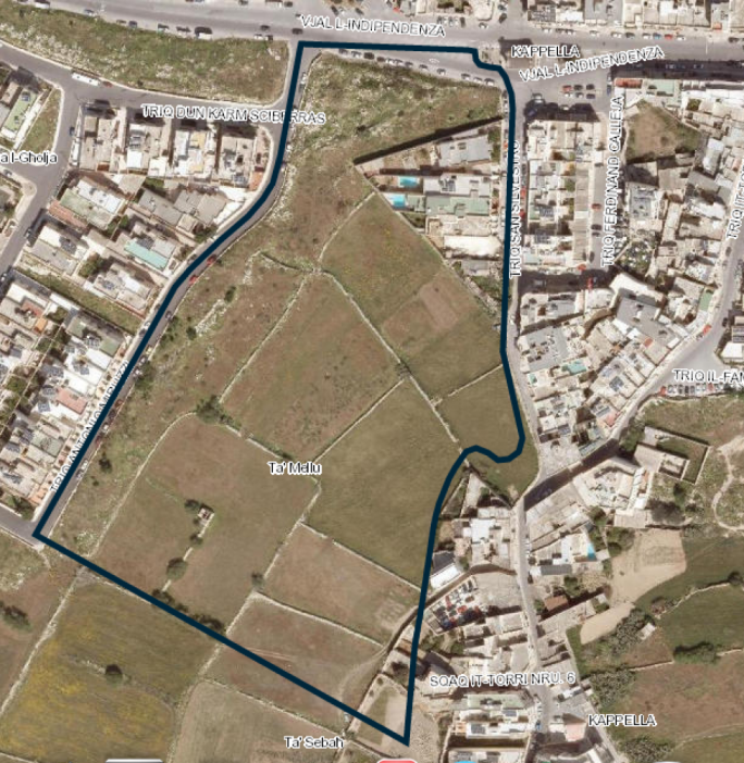 Mosta: Planning Authority now zoning 36,000 sq.m area for development