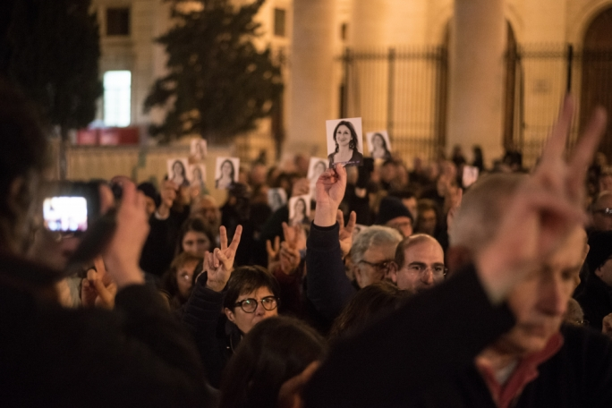 "The sanitised, sanctified image of Caruana Galizia channelled by the international media meets polarised reaction among Maltese... ""tell me what you think of Daphne and I will tell you about your social background and political views"""