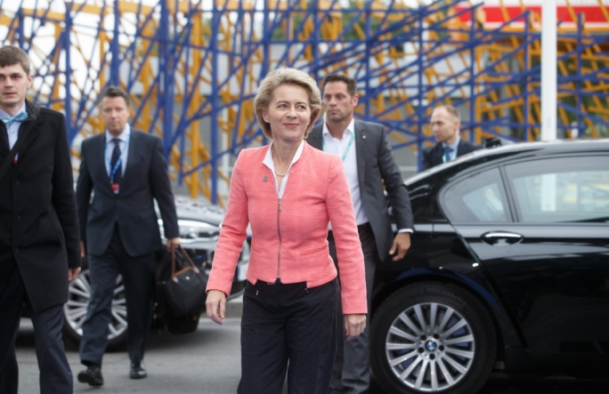 Meet the new boss: Commission president and former German defence minister Ursula von der Leyen