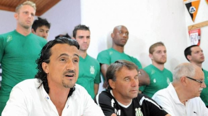 Former club president Johann Said (left) has been co-opted as a new Floriana FC committee member