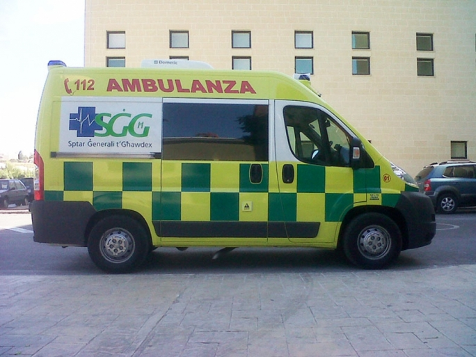 Worker injured on a construction site in Gozo