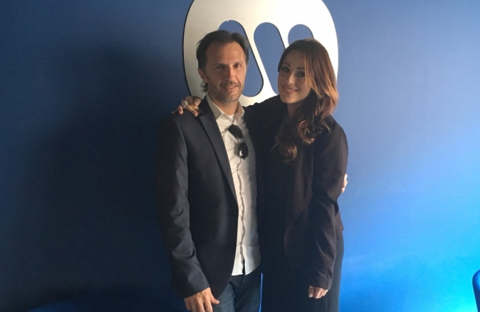 Ira Losco and manager Howard Keith Debono