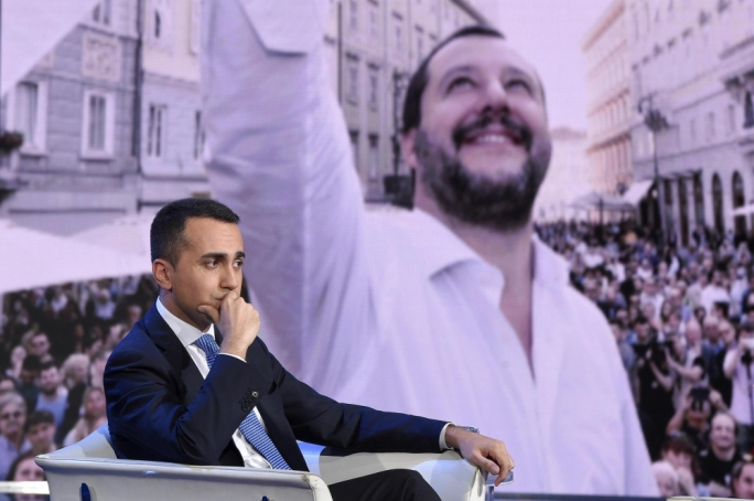 MS5's Luigi di Maio and Lega's Matteo Salvini