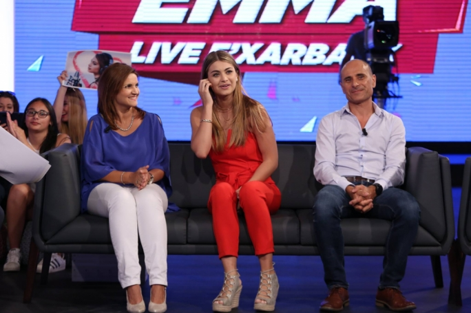 English setting: Emma Muscat's preference for the English language sparked the inevitable online debate from fans who were stunned by her unwillingness to speak Maltese