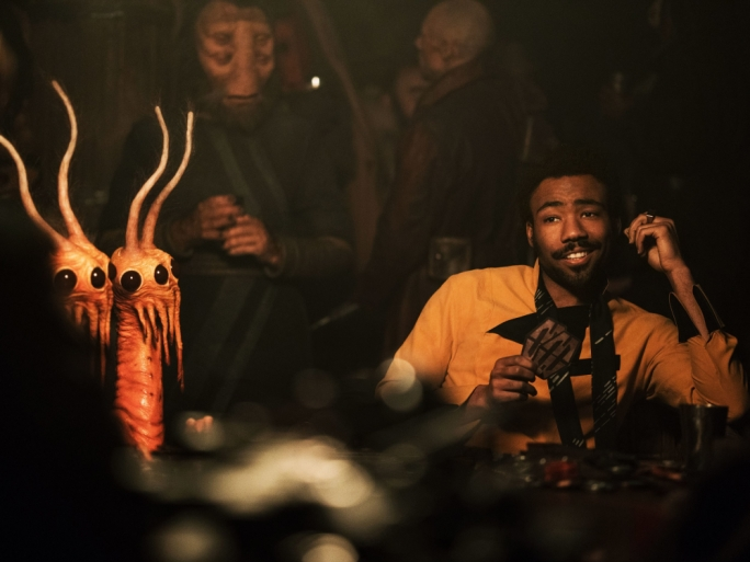 Smuggler's delight: Donald Glover is Lando Calrissian