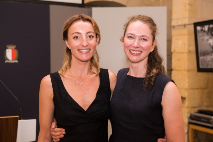 Step Up For Parkinson's coordinator Nathalie Muschamp (left) with Roehampton University principal lecturer Sara Houston, who says dance therapy give sufferers of Parkinson's disease relief as well as a social network