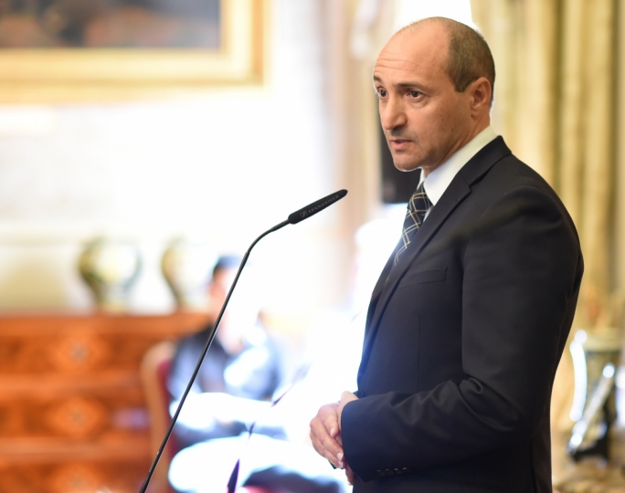 Parliamentiary secretary for health Chris Fearne • Photo by Ray Attard