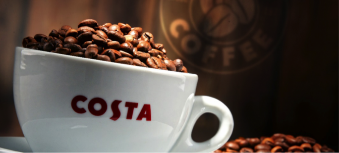 Whitbread Plc has agreed to sell Costa for an enterprise value of £3.9 billion