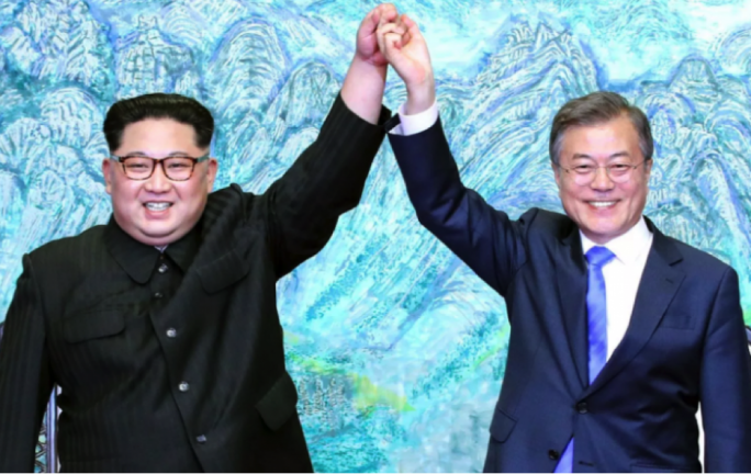 The first inter-Korean summit of 2018, a sunny spectacle in late April, reduced war fears on the peninsula