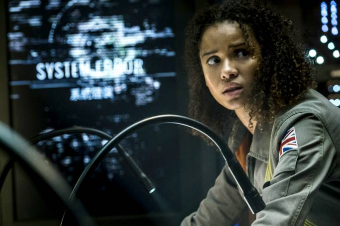 Resistance is futile: Gugu Mbatha-Raw in Cloverfield Paradox