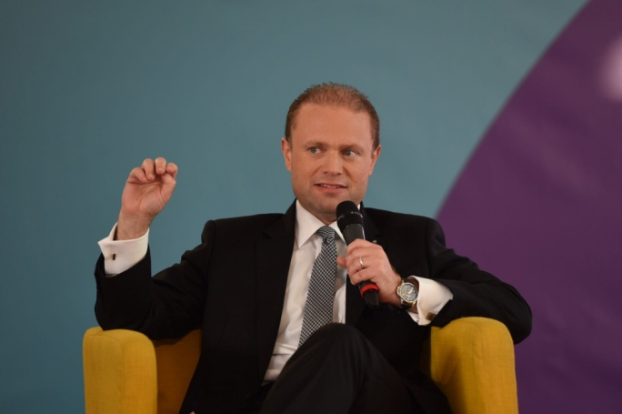 Joseph Muscat was addressing Labour supporters at a political activity in Kirkop