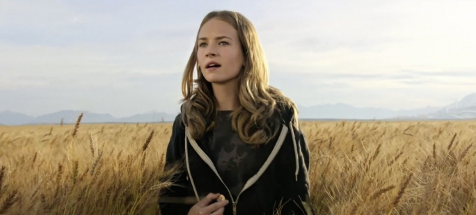 Casey in the Rye: Britt Robertson in Brad Bird's Tomorrowland