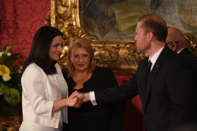 Parliamentary Secretary Julia Farrugia (left) has been tasked by Joseph Muscat to oversee the forthcoming debate on drugs' reform (Photo: James Bianchi)
