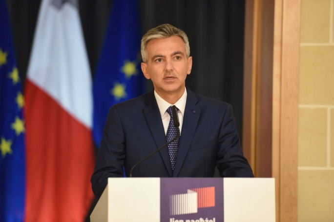 Opposition leader Simon Busuttil. Photo: James Bianchi
