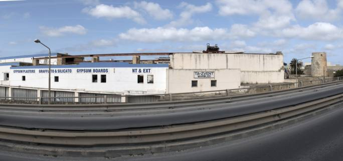 The Meli Bugeja marble factory is situated just off the Mriehel Bypass